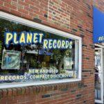 ボストン郊外 ケンブリッジのレコードショップ -Planet Records-